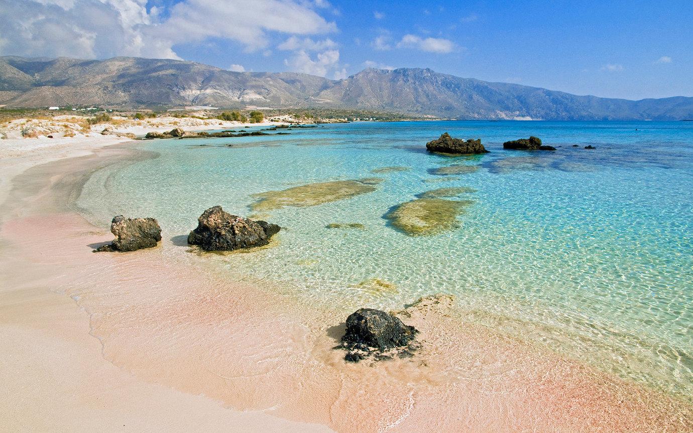 Острова крит пляжи фото
